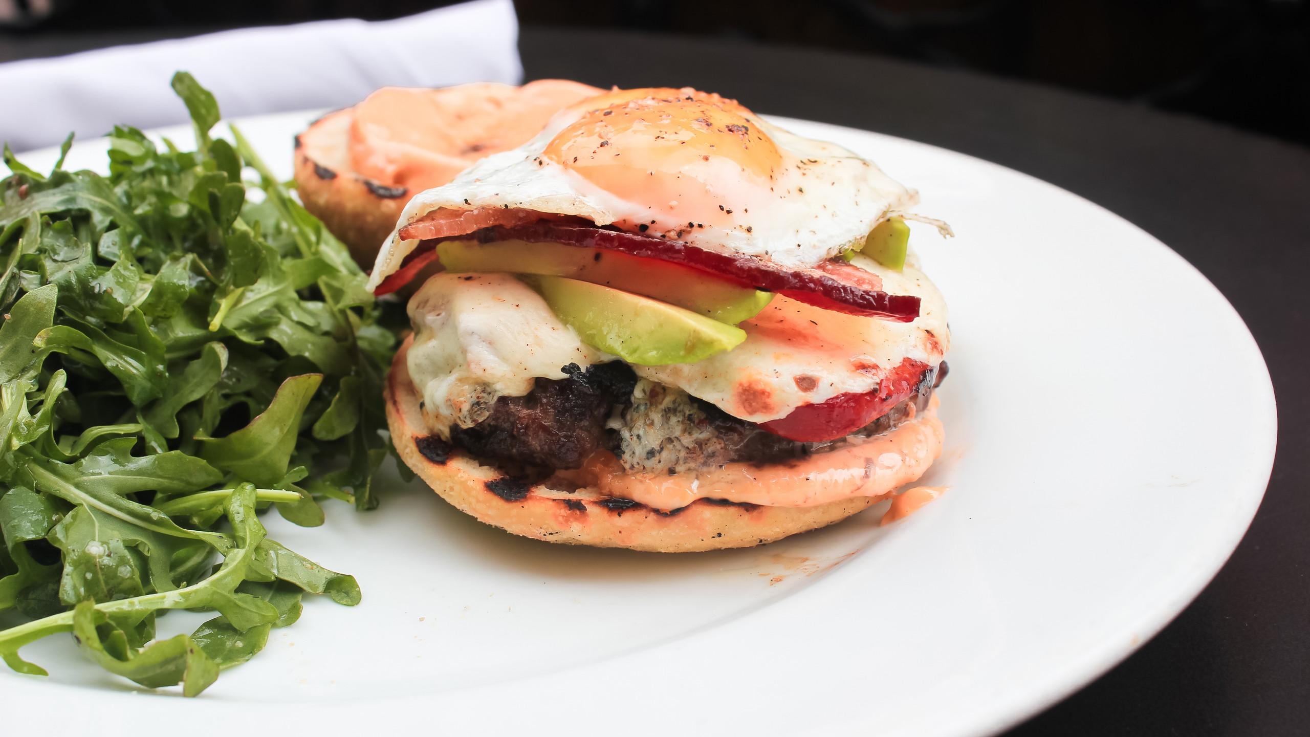 Colorado Lamb Burger from Rioja Den