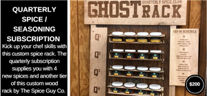 Ghost Rack by The Spice Guy Co