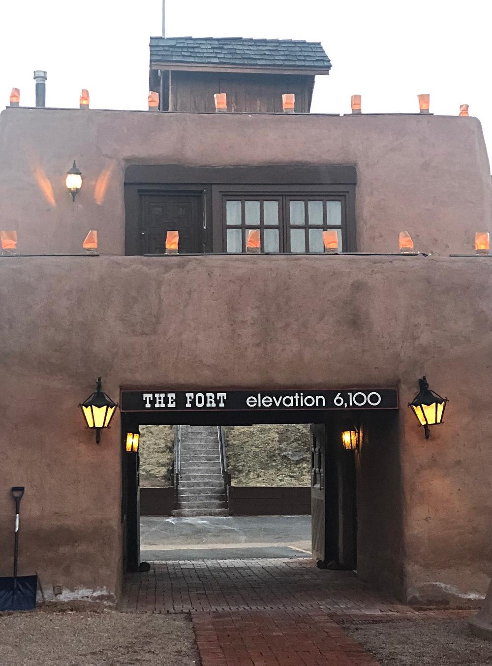 The Fort elevation 6,100 Denver, CO