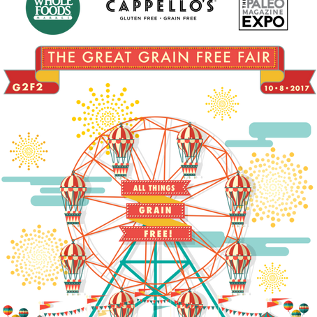 The Great Grain Free Fair: October 8, 2017