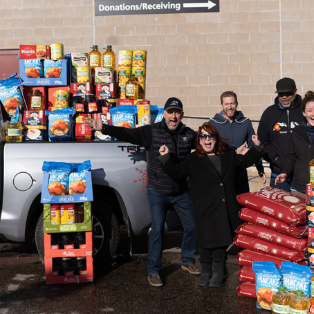 #ToyotaGives to the Denver Rescue Mission