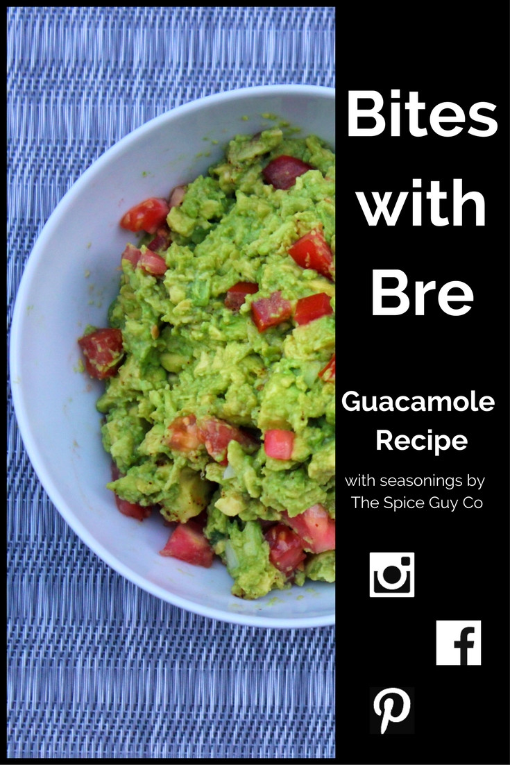 Bites with Bre Guacamole with The Spice Guy Seasoning