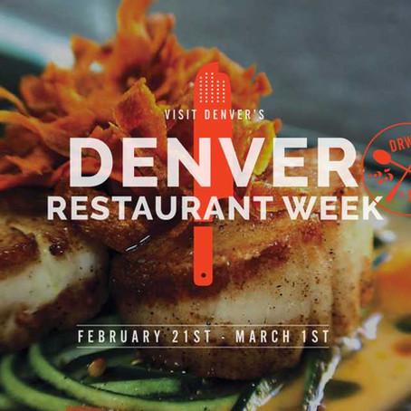 Denver Restaurant Week 2020