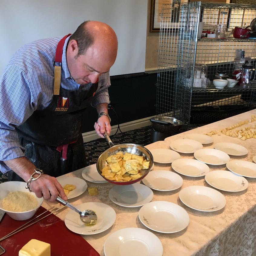 Plating the Pasta