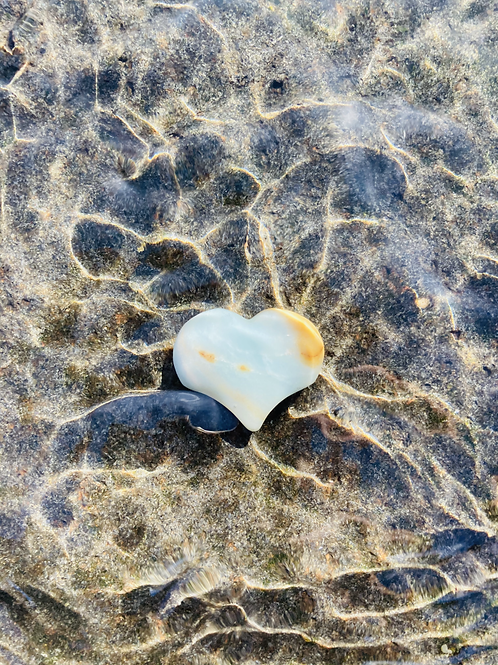 Mini Amazonite Sound Heart