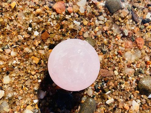 Rose Quartz Sound Sphere