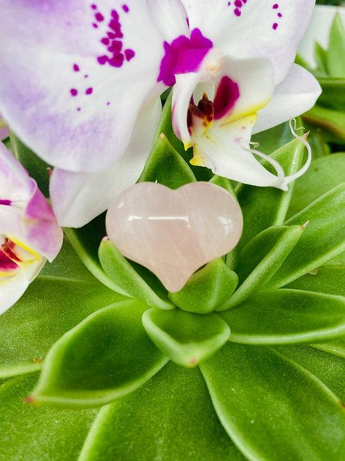 Mini Rose Quartz Sound Heart