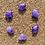 Thumbnail: Mini Lavender Amethyst Sound Heart