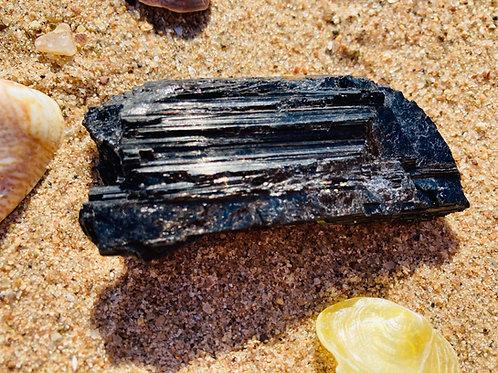 Raw Black Tourmaline Sound Stone
