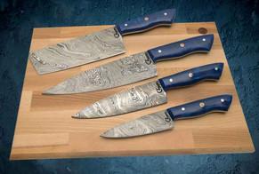 Damascus Kitchen Knife set.jpg