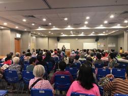 香港婦女基金會何郭佩珍耆康中心情緒健康講座