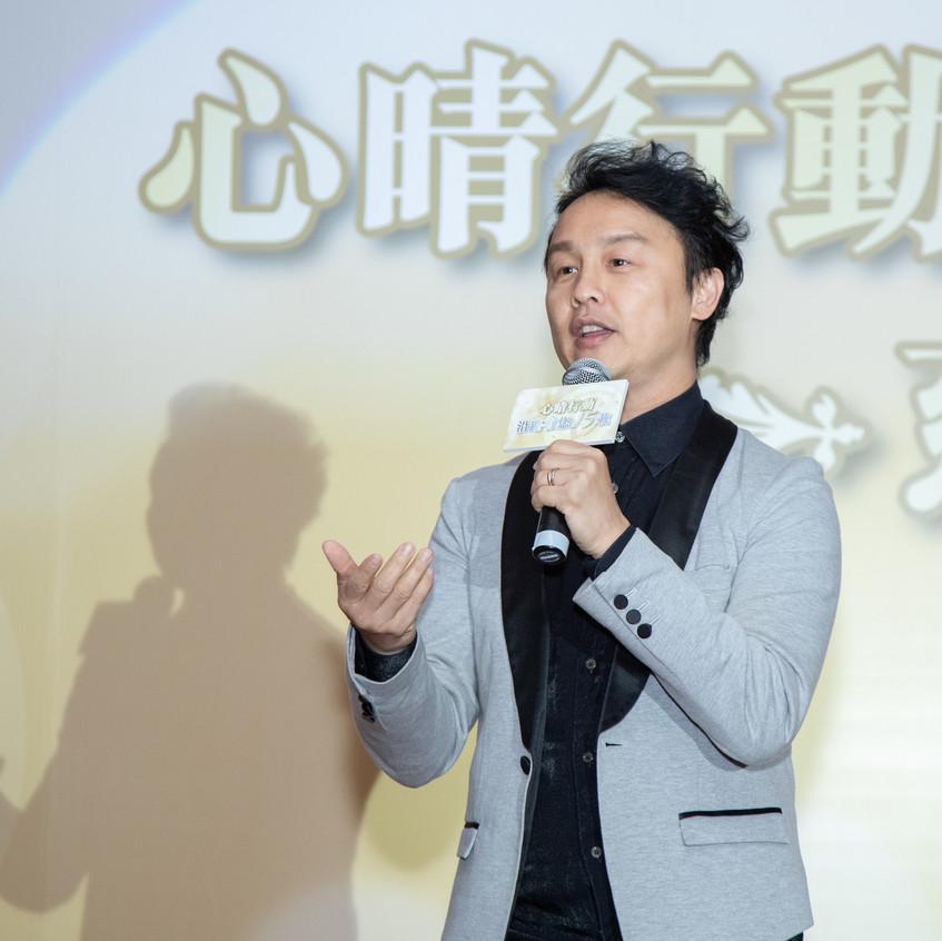 鄭敬基先生作為當晚表演嘉賓,現場獻唱,氣氛熱烈