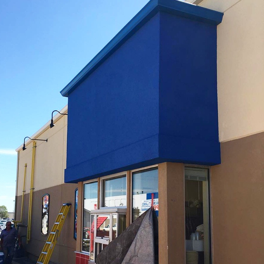 Commercial Stucco Project