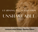 Unshakeable Learning to Stand Firm Lesso