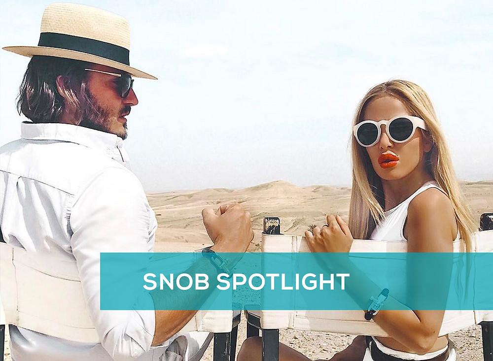 Influencers Mr & Mrs Monnet on BrandSnob