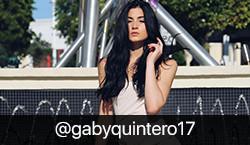 Instagram Influencer @gabyquintero17 on BrandSnob