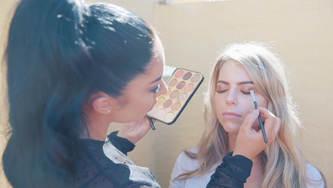 Content Creator Makeup Shoot