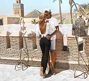 Instagram Influencers Mr & Mrs Monnet on BrandSnob