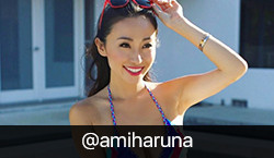 Instagram Influencer @amiharuna on BrandSnob
