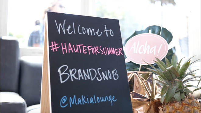 "Hundreds of influencers, content creators attend ""Haute for Summer"" in Santa Monica"