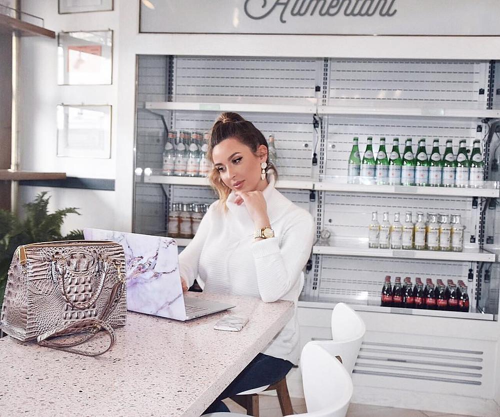 Michelle talks about influencer marketing platform BrandSnob