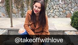 Fashion Influencer @takeoffwithlove on BrandSnob