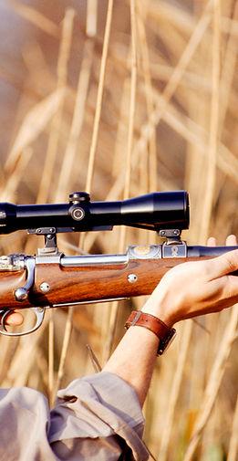 Hunter Прицеливание винтовки