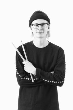 Mathias Grevin Garvö - Drums