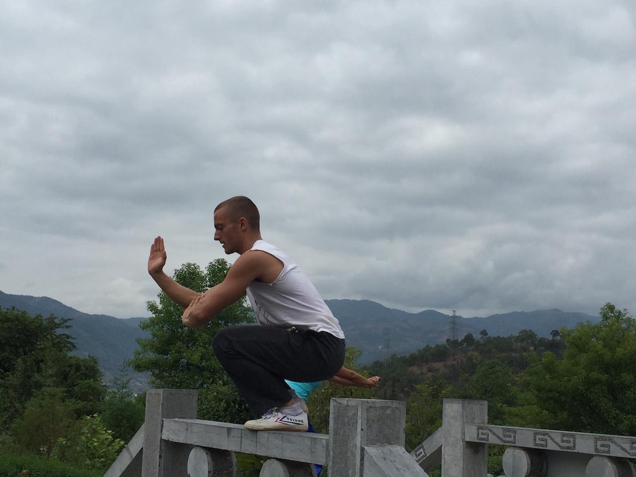 Shaolin Stance Training