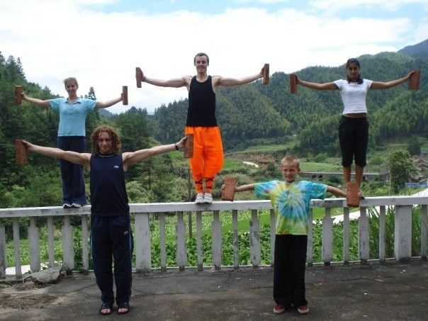 Shaolin Brick Training