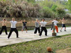 Tai Chi lessons in China