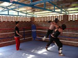 Sanda Training in China