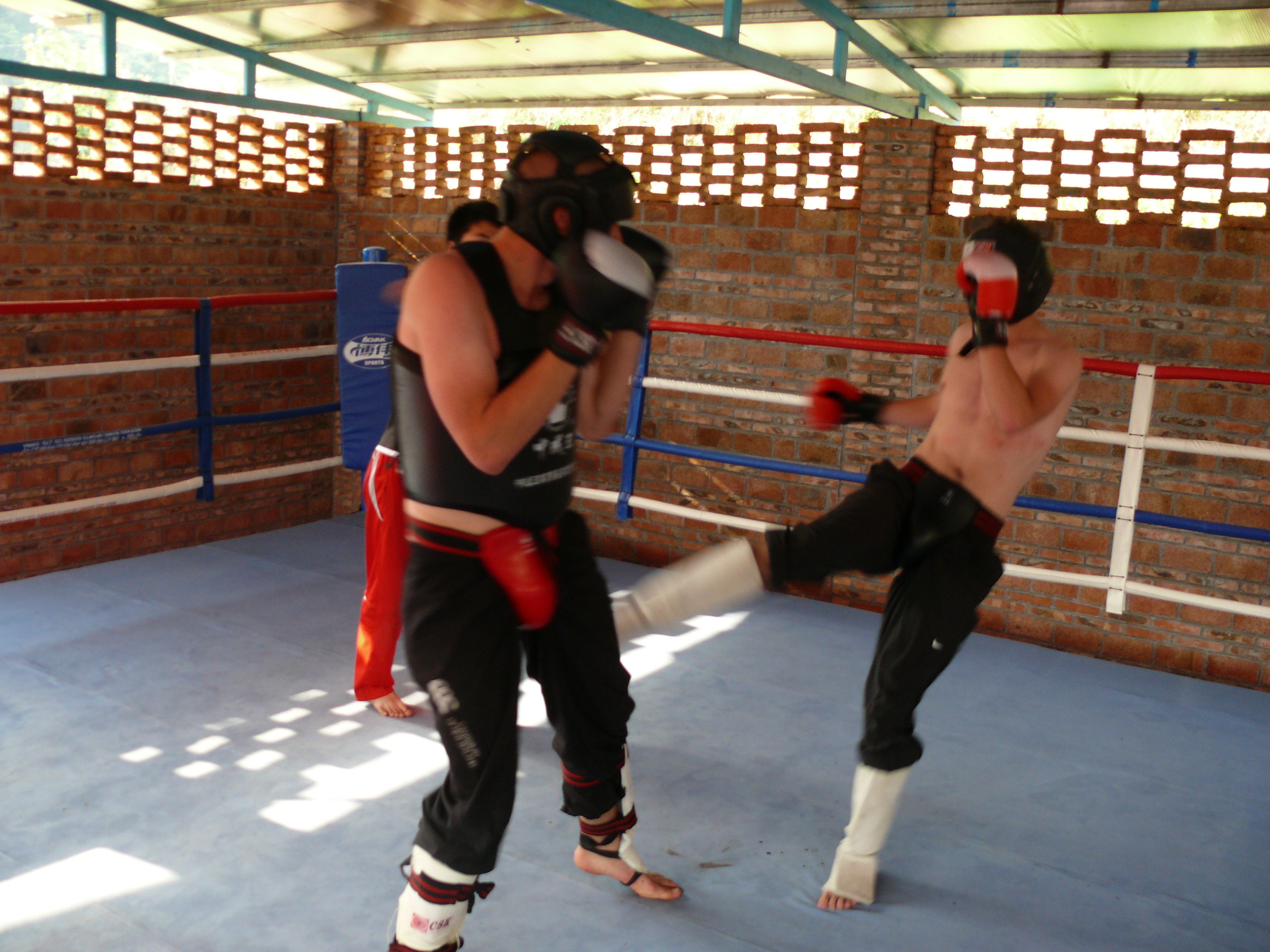 Full Contact Sparring