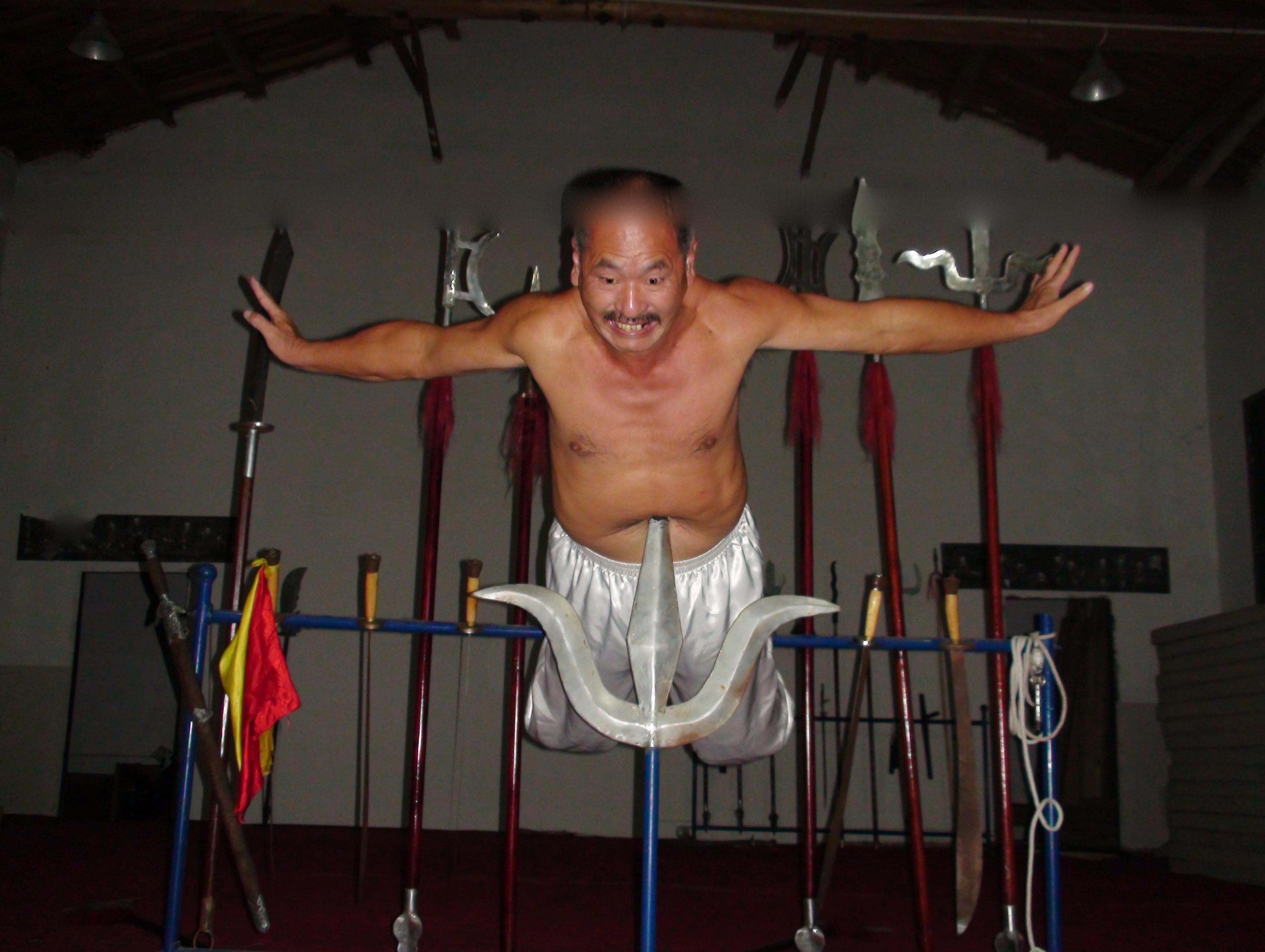 White Crane Master Yan Da Shi