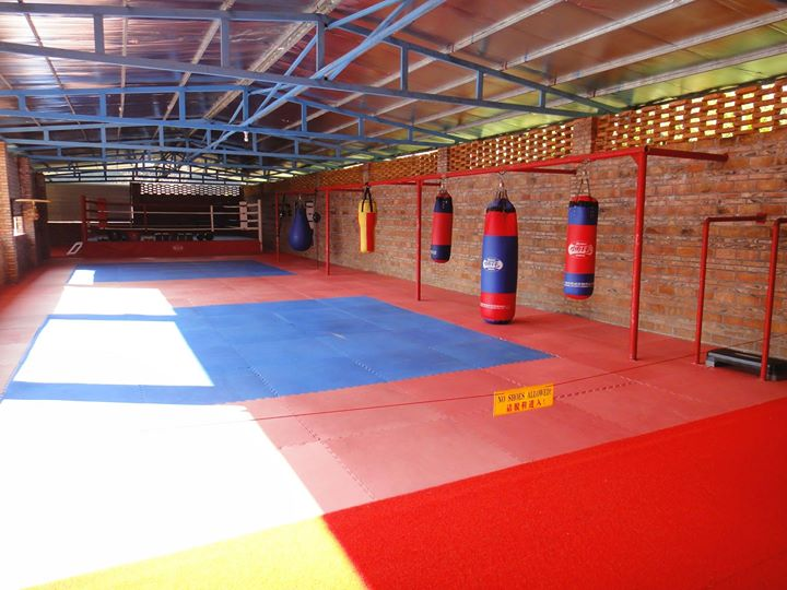 Kickboxing & BJJ Training Area