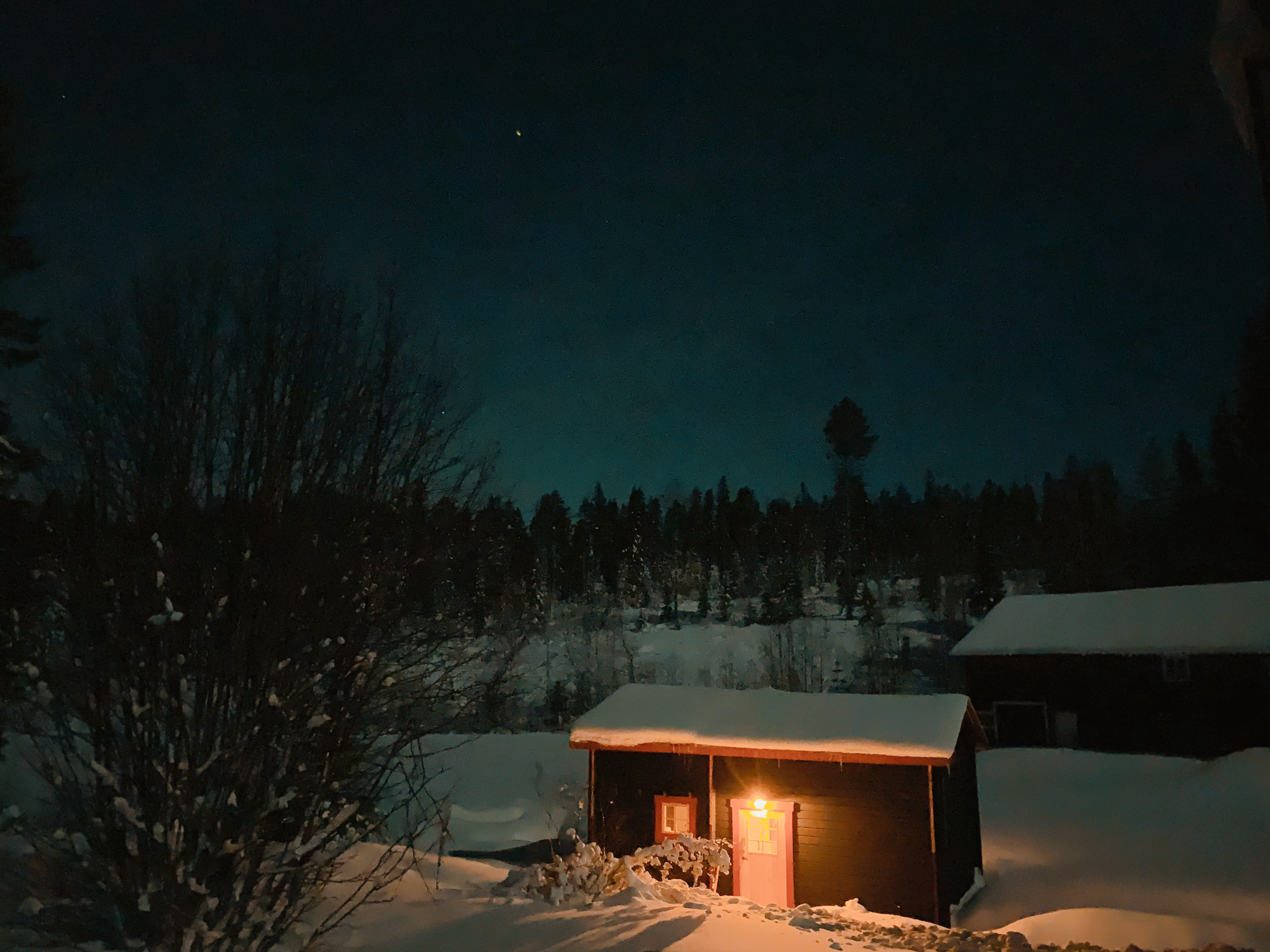lapland holiday cabin