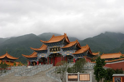 Entrance to Chongsheng Temple