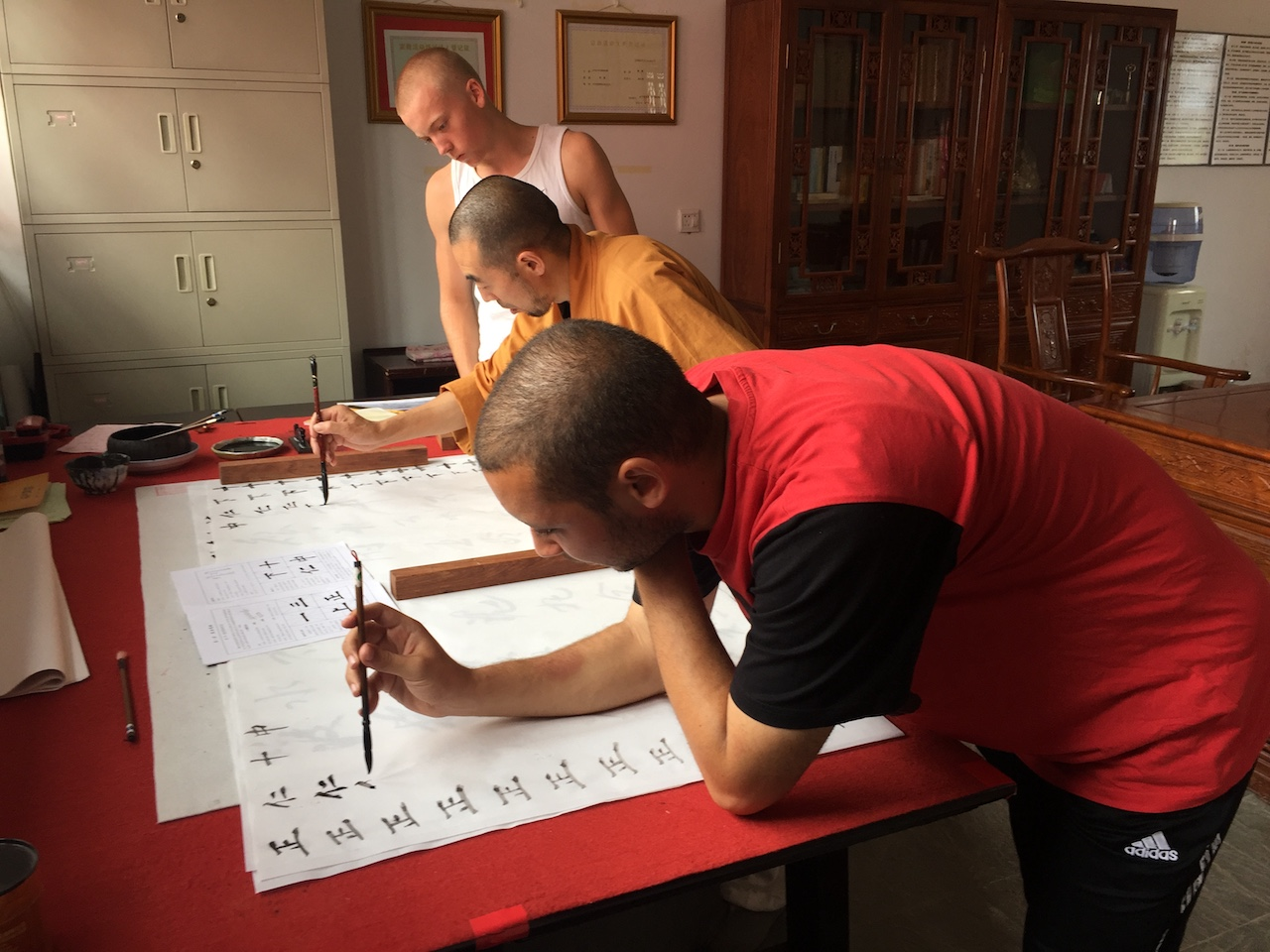 Learn Calligraphy in China