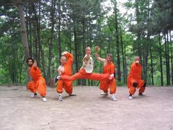 Shaolin Training in China