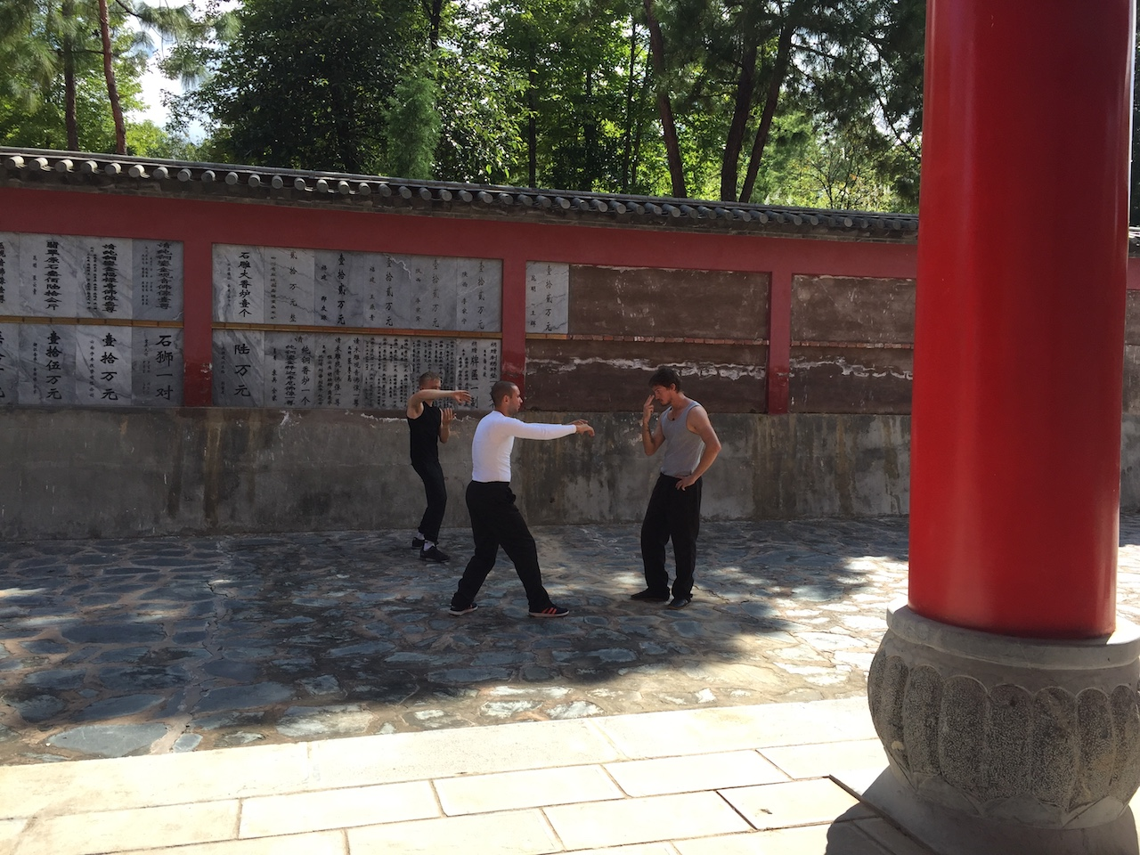 Kung Fu Temple Training