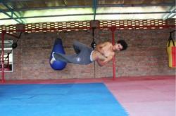 Wushu Acrobatics
