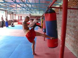 Kicking Practice Heavy Bag