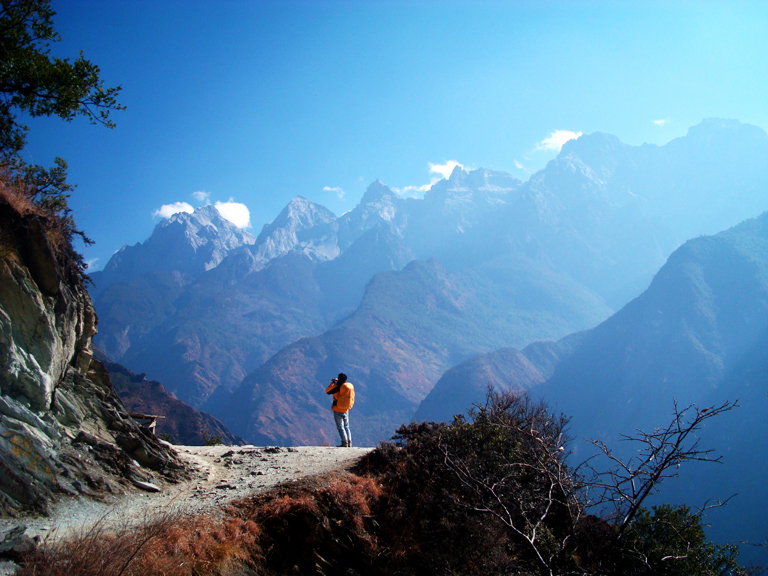 Tiger Leaping Gorge in Lijiang
