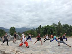 Shaolin Kung Fu Lesson