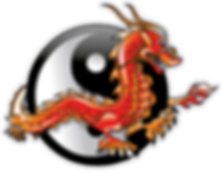 Risning Dragon Martial Arts School Logo