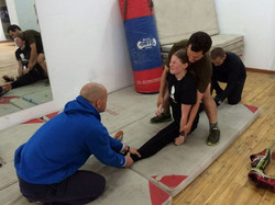 Kung Fu Stretching
