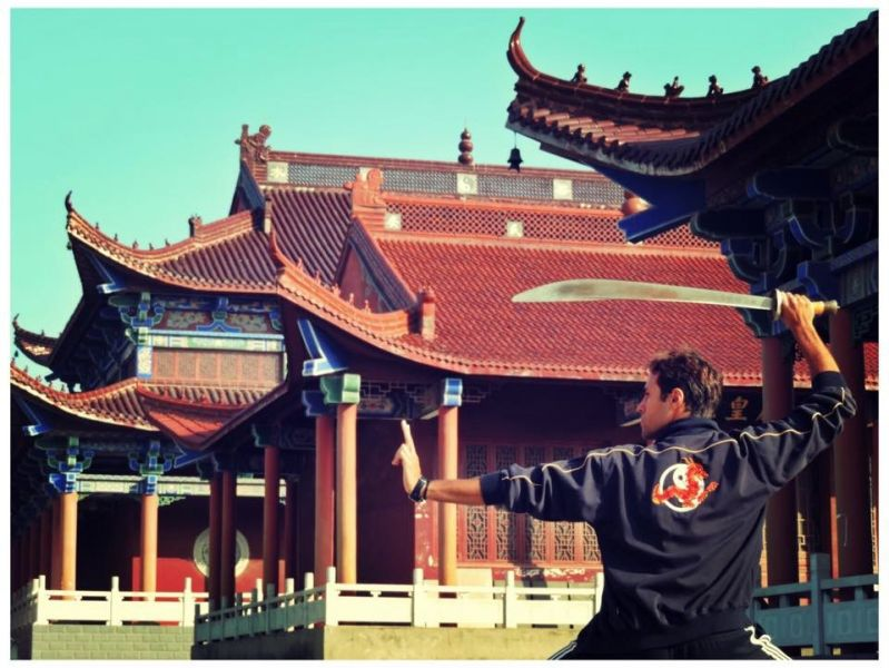 Kung Fu Temple in China