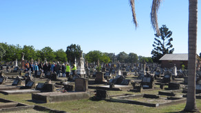 Tours of Sandgate Cemetery