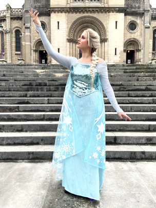 Anniversaire Reine des Neiges Paris