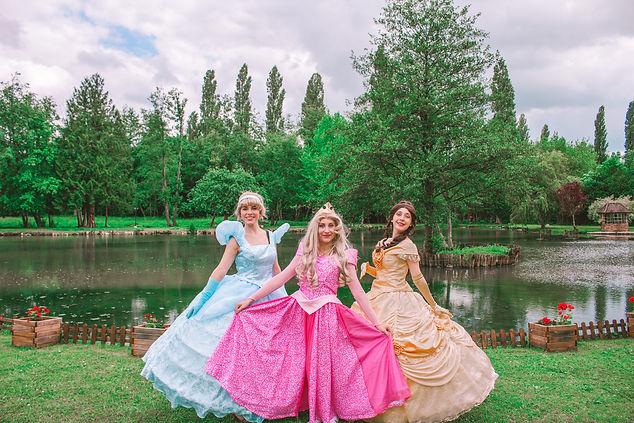 Anniversaire Princesses Aurore, Belle & Cendrillon